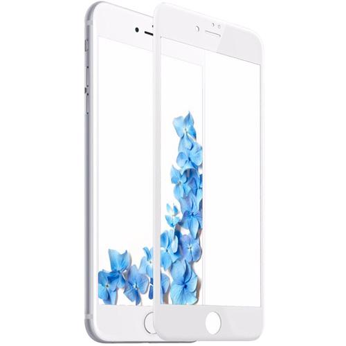 Защитное стекло MOCOLL White Diamond 2.5D Full Cover для iPhone 7/8 белая рамкаСтекла/Пленки на смартфоны<br>MOCOLL 2.5D Full Cover с номинальная твёрдость  9H надежно оберегает экран смартфона и не препятствует прохождению сенсорного сигнала,<br><br>Цвет: Белый<br>Материал: Стекло; олеофобное покрытие, антибликовое покрытие