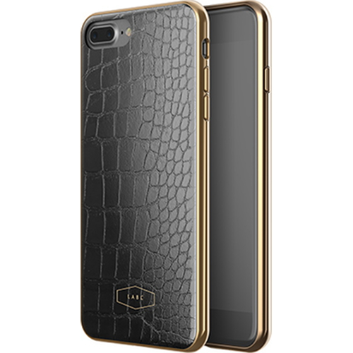Чехол LAB.C Crocodile Case для iPhone 7 Plus чёрныйЧехлы для iPhone 7/7 Plus<br>С чехлом LAB.C Crocodile Case вы будете спокойны за сохранность своего Айфона и при этом сможете поразить окружающих премиум аксессуаром.<br><br>Цвет товара: Чёрный<br>Материал: Поликарбонат, полиуретан