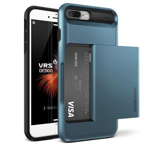 Чехол Verus Damda Glide для iPhone 7 Plus (Айфон 7 Плюс) синий (VRIP7P-DGLBB)Чехлы для iPhone 7 Plus<br>Чехол Verus для iPhone 7 Plus Damda Glide, стальной голубой (904645)<br><br>Цвет товара: Синий<br>Материал: Поликарбонат, полиуретан