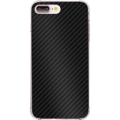 Чехол Momax Carbon F1 Case для iPhone 7 Plus чёрный карбон