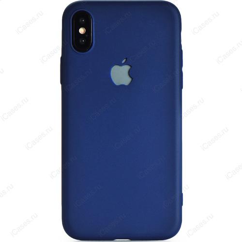 Чехол Gurdini Ultra Slim Silicone Case для iPhone X синийЧехлы для iPhone X<br>Тонкий и невероятно легкий, словно перо, силиконовый чехол Gurdini Ultra Slim Silicone Case повторяет плавные контуры вашего iPhone Х.<br><br>Цвет товара: Синий<br>Материал: Силикон