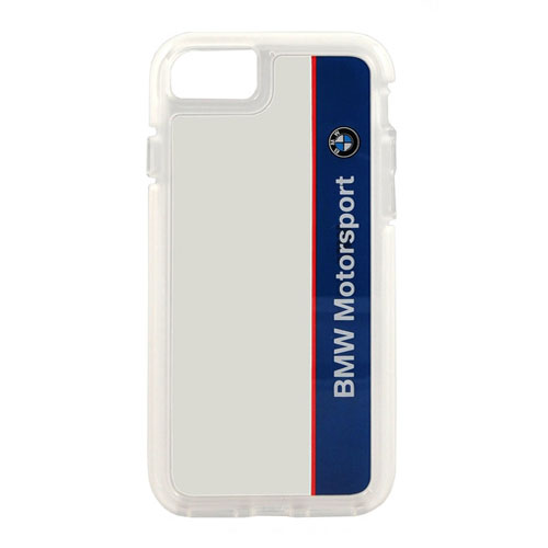 Чехол BMW Motorsport Shockproof Hard PC дл 5/5S/SE белый/синий от iCases