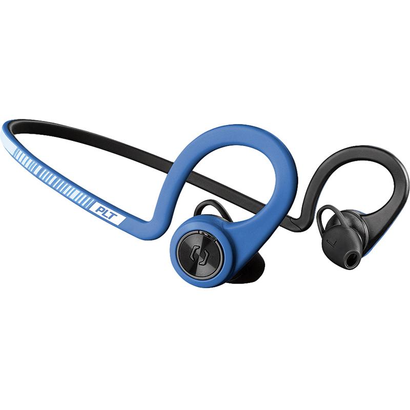 Наушники Plantronics BackBeat Fit синиеВнутриканальные наушники<br>Беспроводные наушники Plantronics BackBeat Fit идеальны для активных людей, занимающихся спортом.<br><br>Цвет товара: Синий<br>Материал: Пластик, нанопокрытие P2i