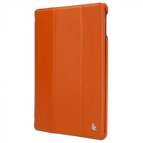 Чехол Jison SMART CASE для iPad Air / iPad Air 2 оранжевыйЧехлы для iPad Air<br>Чехол Jison SMART CASE - это чистые линии и высокая функциональность, простота и технологичность, элегантность и универсальный дизайн.<br><br>Цвет товара: Оранжевый<br>Материал: Кожа, поликарбонат
