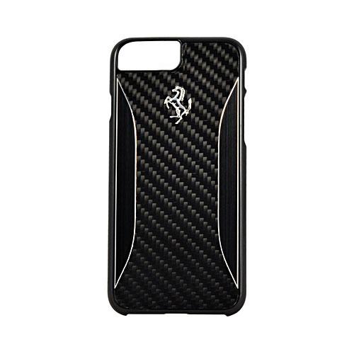 Чехол Ferrari GT Experience Hard Carbon-Aluminium для iPhone 7 Plus (Айфон 7 Плюс) чёрный