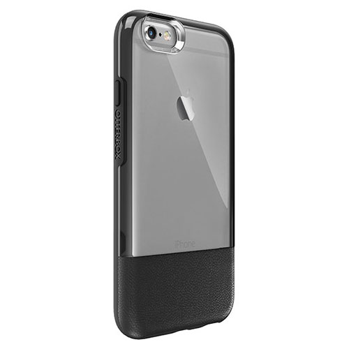 Чехол OtterBox Statement Series для iPhone 6 Plus/6S Plus чёрныйЧехлы для iPhone 6s PLUS<br>Чехол OtterBox Statement Series для iPhone 6 Plus/6S Plus чёрный<br><br>Цвет товара: Чёрный<br>Материал: Натуральная кожа, поликарбонат