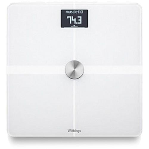 Весы Nokia Body Composition Wi-Fi Scale? WBS05 WH для iOS/Android белыеУмные весы<br>Весы Nokia Body Composition Wi-Fi Scale отличаются высочайшим качеством исполнения, продуманностью деталей, а также стильным внешним видом.<br><br>Цвет: Белый<br>Материал: Стекло, металл