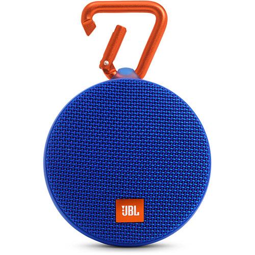 Портативная акустическая система JBL Clip 2 синяяКолонки и акустика<br>Портативная акустическая система JBL CLIP 2 - синяя<br><br>Цвет товара: Синий<br>Материал: Пластик, металл
