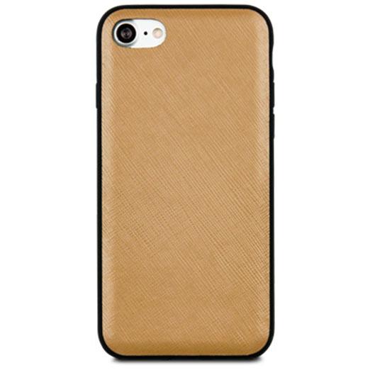 Чехол Dbramante1928 London для iPhone 7 светло-коричневыйЧехлы для iPhone 7<br>Dbramante1928 London - высококачественный чехол ручной работы.<br><br>Цвет товара: Коричневый<br>Материал: Сафьян, поликарбонат