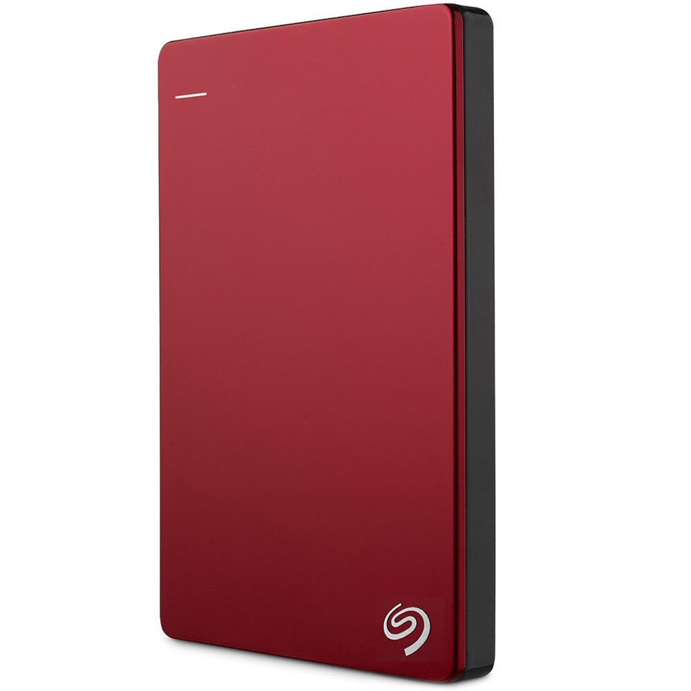 Внешний жесткий диск Seagate Original Backup Plus Slim 1 Тб (STDR1000203) красныйВнешние накопители<br>Seagate Original Backup Plus Slim сохранит любую цифровую информацию.<br><br>Цвет товара: Красный<br>Материал: Пластик<br>Модификация: 1 Тб