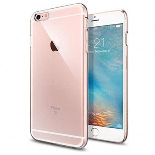 Чехол Spigen Thin Fit для iPhone 6s Plus (5,5) прозрачный (SGP11637)Чехлы для iPhone 6S Plus<br>Чехол Spigen Thin Fit с легким и свежим дизайном создан специально для флагмана Apple — iPhone 6s Plus.<br><br>Цвет товара: Прозрачный<br>Материал: Поликарбонат