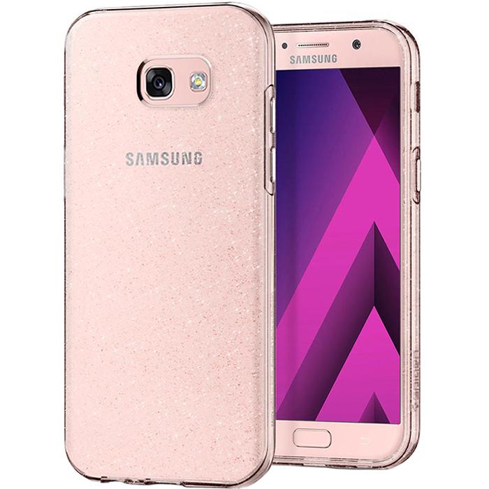 Чехол Spigen Liquid Crystal Glitter для Samsung Galaxy A5 (2017) кристальный кварц (573CS21450)Чехлы для Samsung Galaxy A Series<br>Ни царапины, ни трещины, ни сколы будут не страшны вашему Samsung Galaxy A5 (2017) в чехле от Spigen.<br><br>Цвет: Прозрачный<br>Материал: Термопластичный полиуретан