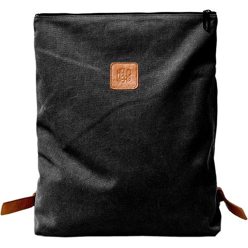 Рюкзак Handwers Ranger для MacBook 13 чёрныйРюкзаки<br>Рюкзак Handwers Ranger — отличный спутник для ежедневных поездок и прогулок по городским джунглям.<br><br>Цвет товара: Чёрный<br>Материал: 100% хлопок, натуральная кожа хромового дубления