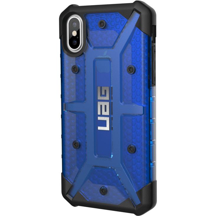 Чехол UAG Plasma Series Case для iPhone X синий CobaltЧехлы для iPhone X<br>UAG Plasma Series Case обеспечивает максимальную защиту от ударов и падений!<br><br>Цвет: Синий<br>Материал: Поликарбонат, термопластичный полиуретан