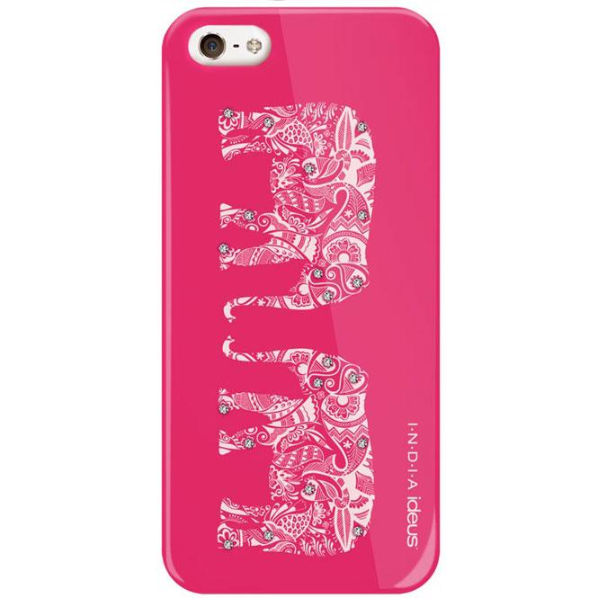 Чехол Fonexion India для iPhone 5/5S/SE розового цвета