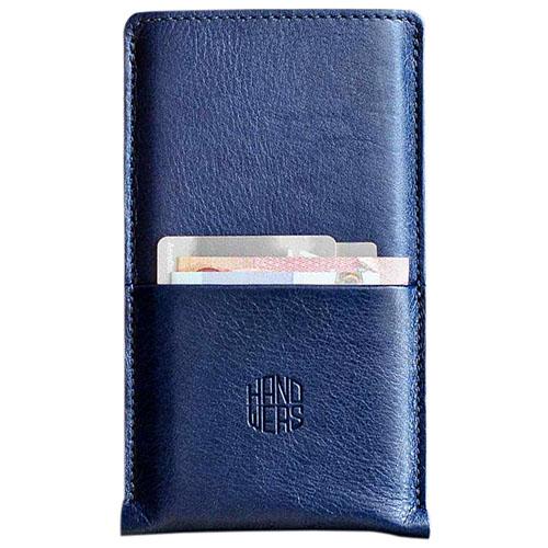 Чехол Handwers Hike Plus для iPhone 6/6s/7 синийЧехлы для iPhone 6/6s<br>Чехол Handwers Hike Plus для iPhone 6 Синий<br><br>Цвет товара: Синий<br>Материал: Натуральная кожа, войлок