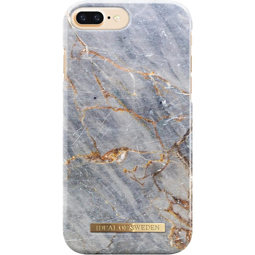 Чехол iDeal of Sweden Fashion Case для iPhone 8 Plus/7 Plus/6 Plus (Royal Grey Marble)Чехлы для iPhone 6/6s Plus<br>Чехол iDeal of Sweden Fashion Case станет истинным украшением самого лучшего смартфона!<br><br>Цвет товара: Серый<br>Материал: Пластик, замша