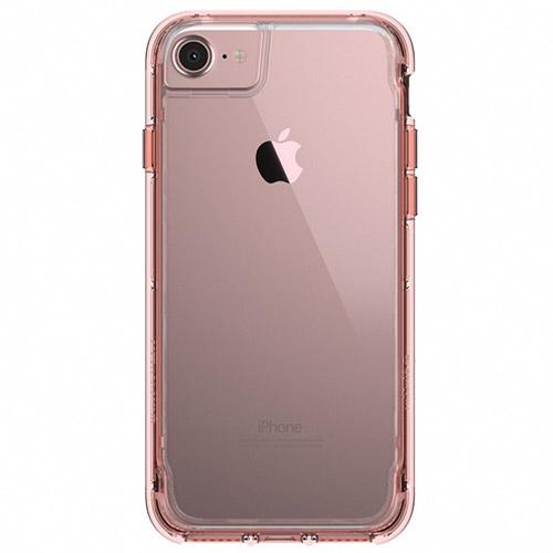 Чехол Griffin Survivor Clear для iPhone 7/6s/6 прозрачный/розовое золотоЧехлы для iPhone 6/6s<br>Griffin Survivor Clear убережет ваш iPhone от повреждений, и ничуть не скроет его великолепный дизайн.<br><br>Цвет: Розовое золото<br>Материал: Поликарбонат, термопластичный полиуретан