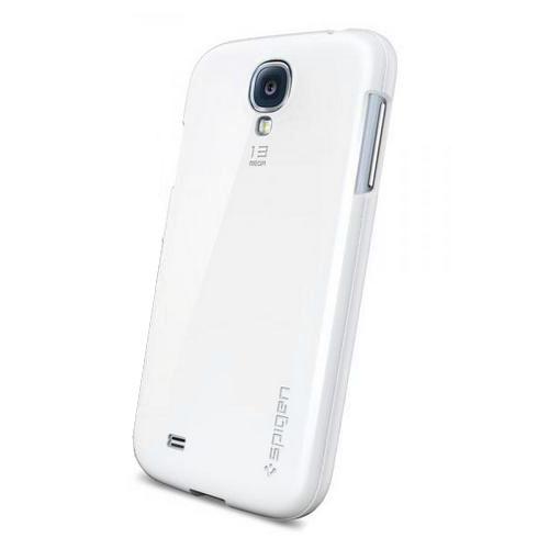 Чехол SGP Bounce для Samsung Galaxy S4 (SGP10213)Чехлы для Samsung Galaxy S4<br>Чехол SGP Bounce  для Samsung S4 белый<br><br>Цвет товара: Белый<br>Материал: Пластик