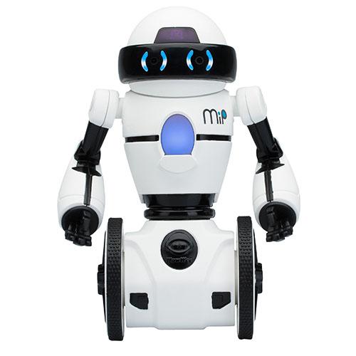 Робот WowWee MIP белыйРоботы<br>WowWee MIP — это намного больше, чем просто игрушка!<br><br>Цвет товара: Белый<br>Материал: Пластик, металл