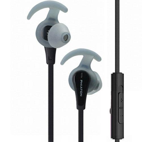 Наушники Phiaton Sport C230S чёрныеВнутриканальные наушники<br>Phiaton Sport C230S способные выдержать почти любые испытания!<br><br>Цвет товара: Чёрный<br>Материал: Пластик, силикон