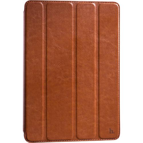 Чехол Hoco Crystal Series Leather для iPad Pro 9.7 коричневыйЧехлы для iPad Pro 9.7<br>Чехол Hoco Crystal для Apple iPad Pro 9.7 - коричневый<br><br>Цвет товара: Коричневый<br>Материал: Натуральная кожа, поликарбонат
