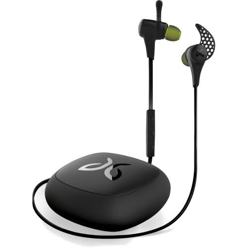 Наушники JayBird X2 Sport Wireless чёрныеВнутриканальные наушники<br>Наушники JayBird Sport  X2 wireless - черные [Midnight]<br><br>Цвет товара: Чёрный<br>Материал: Пластик, силикон