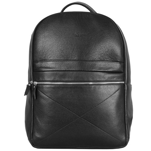 Рюкзак Ray Button Berlin для MacBook 15 чёрныйРюкзаки<br>Рюкзак RAY BUTTON - Berlin Black [600C1]<br><br>Цвет товара: Чёрный<br>Материал: Натуральная кожа