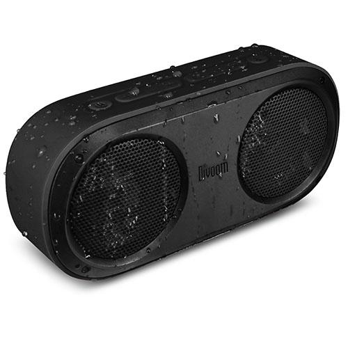 Влагозащищенная акустическая система Divoom Airbeat-20 чёрнаяКолонки и акустика<br>Акустическая система Divoom AirBeat-20 черная<br><br>Цвет товара: Чёрный<br>Материал: Пластик, силикон, металл