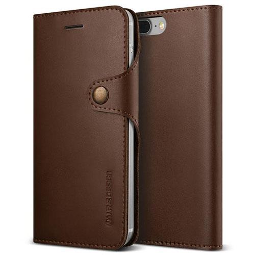 Чехол Verus Native Diary для iPhone 7 Plus (Айфон 7 Плюс) кофейно-коричневый (VRIP7P-NTDBN)Чехлы для iPhone 7 Plus<br>Чехол-книжка Verus для iPhone 7 Plus Native Diary, темно-коричневый (904681)<br><br>Цвет товара: Коричневый<br>Материал: Поликарбонат, полиуретан