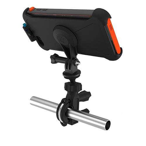 Кронштейн на руль Multi-Sport Mount для чехла Catalyst iPhone 6/6s PlusВелодержатели<br>Кронштейн на руль Multi-Sport Mount для чехла Catalyst iPhone 6/6s Plus<br><br>Цвет товара: Чёрный<br>Материал: Пластик