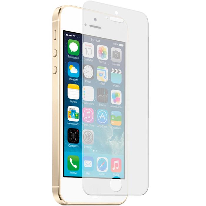 Защитное стекло DoDo для iPhone 5S/SE (OEM)Стекла/Пленки на смартфоны<br>Стекло DoDo убережёт дисплей смартфона от неприятностей!<br><br>Цвет: Прозрачный<br>Материал: Стекло