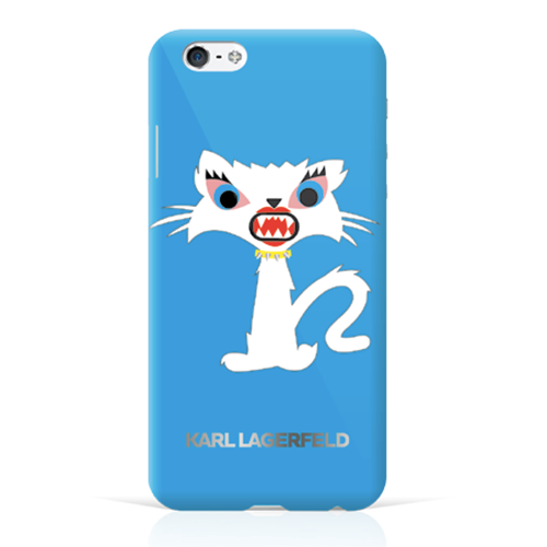 "Чехол Karl Lagerfeld Monster для iPhone 6/6s (4,7"") Голубой"