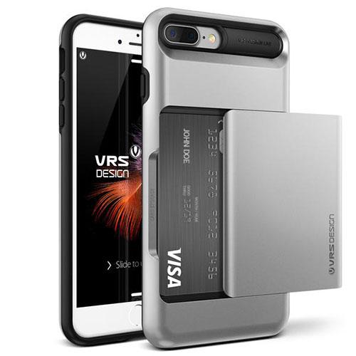 Чехол Verus Damda Glide для iPhone 7 Plus (Айфон 7 Плюс) серебристый (VRIP7P-DGLSS)Чехлы для iPhone 7 Plus<br>Чехол Verus для iPhone 7 Plus Damda Glide, серебристый (904642)<br><br>Цвет товара: Серебристый<br>Материал: Поликарбонат, полиуретан