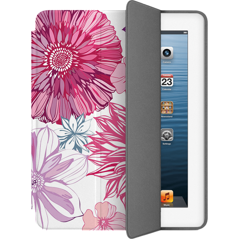 Чехол Muse Smart Case для iPad 2/3/4 ЦветыЧехлы для iPad 1/2/3/4 (2010-2013)<br>Чехлы Muse — это индивидуальность, насыщенность красок, ультрасовременные принты и надёжность.<br><br>Цвет товара: Разноцветный<br>Материал: Поликарбонат, полиуретановая кожа