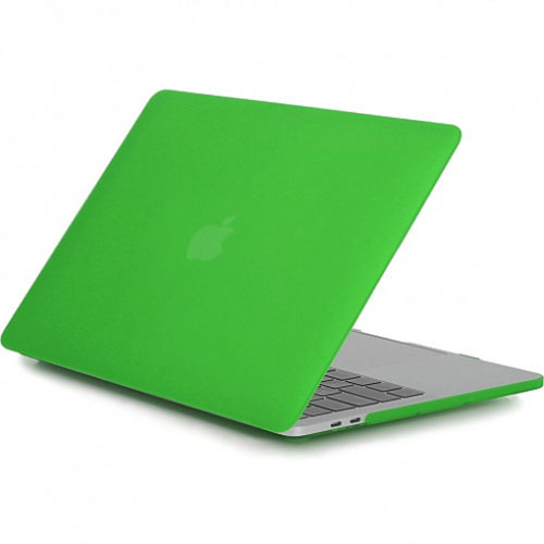 """Купить со скидкой Чехол Crystal Case для MacBook Pro 15"""" Touch Bar зелёный"""