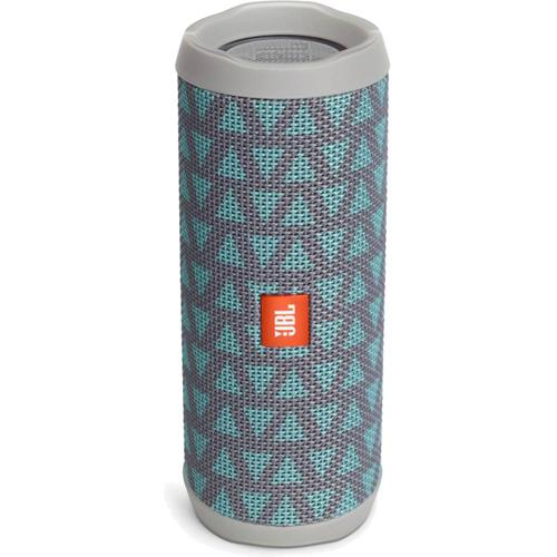 Портативная акустическая система JBL Flip 4 Special Edition TrioКолонки и акустика<br>Портативная и водонепроницаемая беспроводная акустическая система JBL Flip 4 с мощным звучанием.<br><br>Цвет товара: Серый<br>Материал: Текстиль, пластик