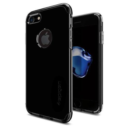Чехол Spigen Hybrid Armor для iPhone 7 (Айфон 7) чёрная смола (SGP-042CS20840)Чехлы для iPhone 7<br>Чехол Spigen Hybrid Armor для iPhone 7 (Айфон 7) чёрная смола (SGP-042CS20840)<br><br>Цвет товара: Чёрный<br>Материал: Поликарбонат, полиуретан