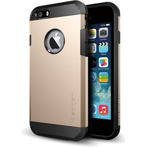 """Чехол Spigen Tough Armor для iPhone 6 (4,7"""") золотой SGP10970 от iCases"""