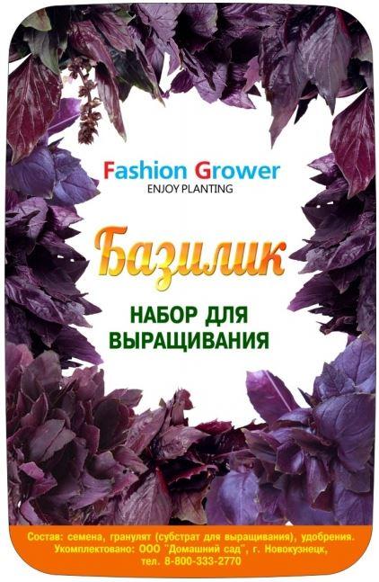 Набор для выращивания Fashion grower «Базилик»Умные сады и фермы<br>Набор для выращивания Fashion grower Базилик<br>