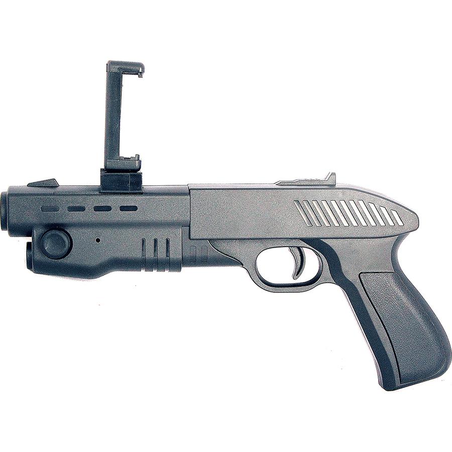 Пистолет для виртуальной реальности Evoplay AR Gun ARP-60Игрушки управляемые смартфоном<br>AR Game Gun создает реальность в любом месте, в любое время!<br><br>Цвет: Чёрный<br>Материал: Пластик
