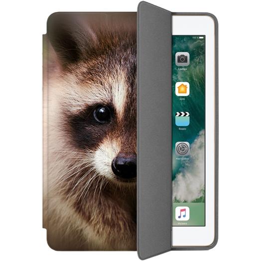 Чехол Muse Smart Case для iPad 9.7 (2017/2018) ЕнотЧехлы для iPad 9.7<br>Чехлы Muse — это индивидуальность, насыщенность красок, ультрасовременные принты и надёжность.<br><br>Цвет: Коричневый<br>Материал: Поликарбонат, полиуретановая кожа