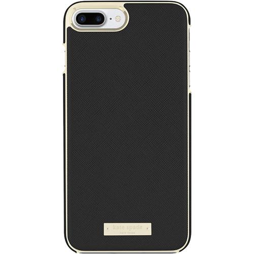 Чехол Kate Spade New York Wrap Case для iPhone 7 Plus / 8 Plus Saffiano чёрныйЧехлы для iPhone 7 Plus<br>Прочный и изысканный чехол Kate Spade New York — это идеальное дополнение к вашему iPhone!<br><br>Цвет товара: Чёрный<br>Материал: Кожа Saffiano, пластик