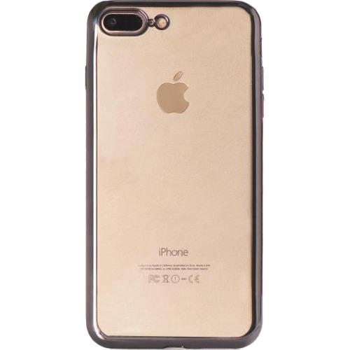 Чехол Gurdini Aluminum Bumper для iPhone 7 Plus графитовыйЧехлы для iPhone 7 Plus<br>Gurdini Aluminum Bumper создан для тех, кто не желает скрывать дизайн iPhone 7 Plus.<br><br>Цвет товара: Чёрный<br>Материал: Силикон