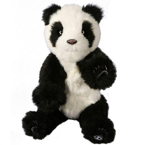 Мягкая игрушка-робот WowWee Alive Мини-Панда (9200-3)Животные<br>Пушистая мини-Панда WowWee Alive очарует с первого взгляда.<br><br>Цвет товара: Чёрный<br>Материал: Текстиль, пластик