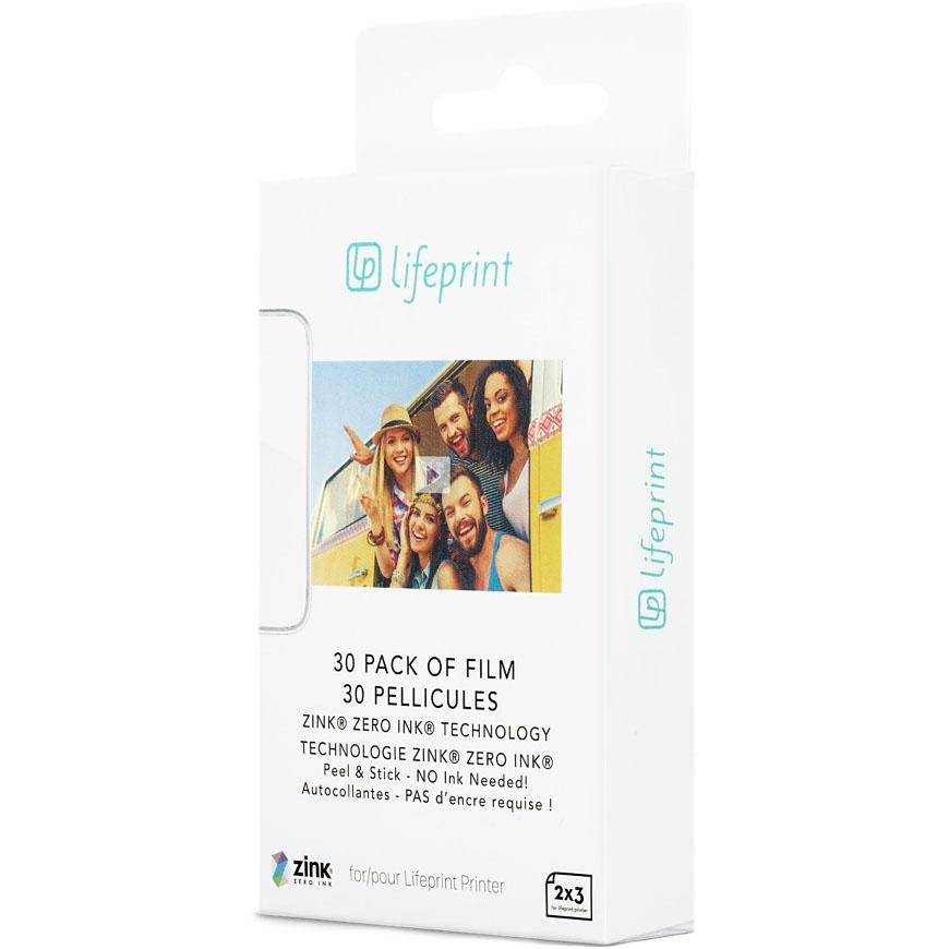 Фотобумага для принтера LifePrint (30 шт.)Портативные принтеры<br>Фотобумага для принтера LifePrint позволяет распечатывать фото размером 7,5 x 5 см.<br><br>Цвет товара: Белый<br>Материал: Бумага