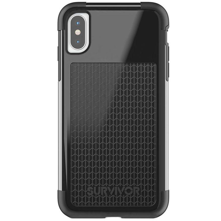 Чехол Griffin Survivor Fit для iPhone X чёрныйЧехлы для iPhone X<br>Survivor Fit — это многослойный чехол нового поколения!<br><br>Цвет товара: Чёрный<br>Материал: Поликарбонат, полиуретан<br>Модификация: iPhone 5.8