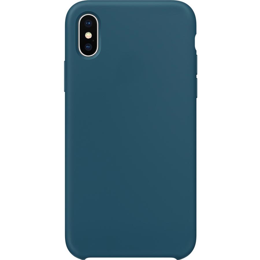 Силиконовый чехол YablukCase для iPhone X тёмно-синий (Cosmos Blue)Чехлы для iPhone X<br>Лёгкий и практичный YablukCase — идеальная пара для вашего iPhone X!<br><br>Цвет: Синий<br>Материал: Силикон