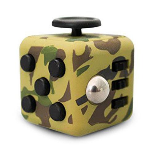 Игрушка Fidget Cube хакиИгрушки-антистресс<br>Fidget Cube поможет Вам сосредоточиться и успокоить нервы.<br><br>Цвет товара: Жёлтый<br>Материал: Пластик