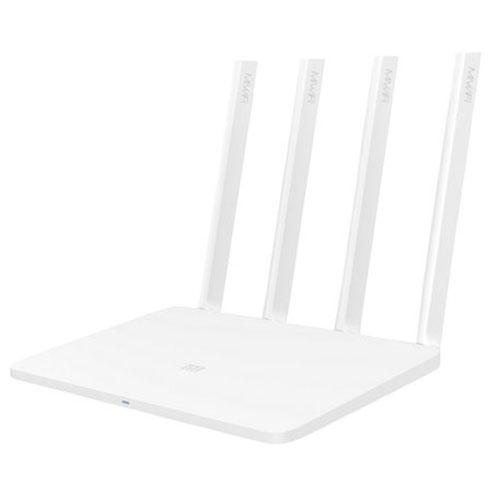 Роутер Xiaomi Mi Wi-Fi 3Беспроводное оборудование<br>Роутер Xiaomi Mi WiFi 3 AC1200<br><br>Цвет товара: Белый<br>Материал: Пластик